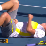 Hitting Your Tennis Opponent – Is It OK?